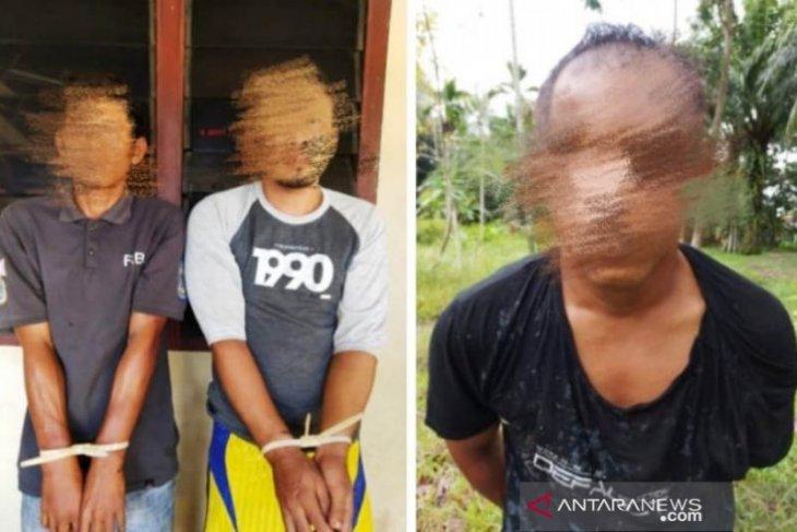 Tiga terduga perampok pengusaha Nagan Raya Aceh ditangkap di Langkat