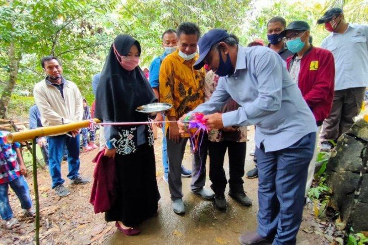 Sekda Paser resmikan tempat wisata Loyu Bile