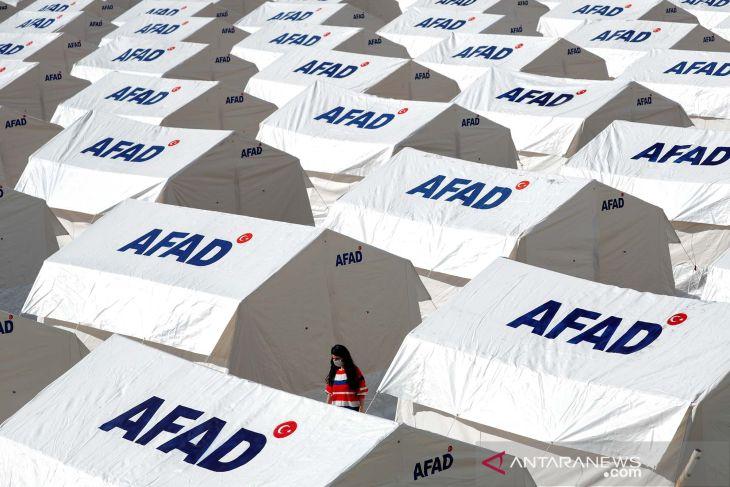 Korban jiwa gempa Laut Aegea Turki menjadi 100 orang
