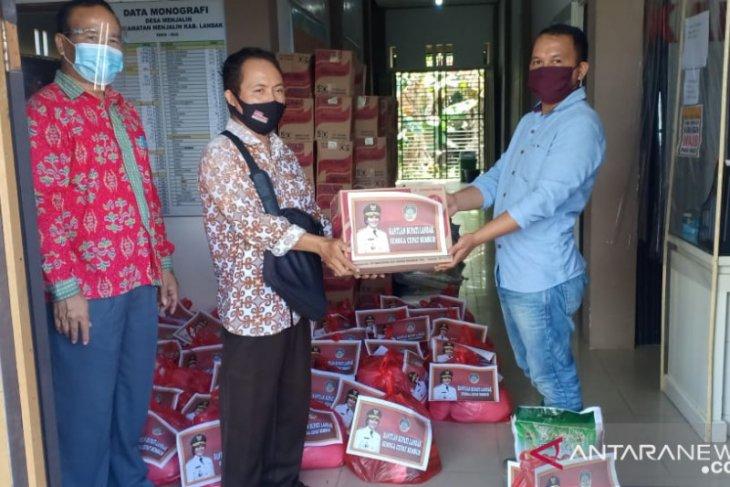 Pemkab Landak bantu 92 warga yang jalani isolasi mandiri