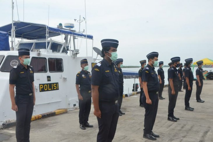 Bea Cukai Aceh bersama Dirpolairud apel patroli gabungan di Langsa, ini tujuannya