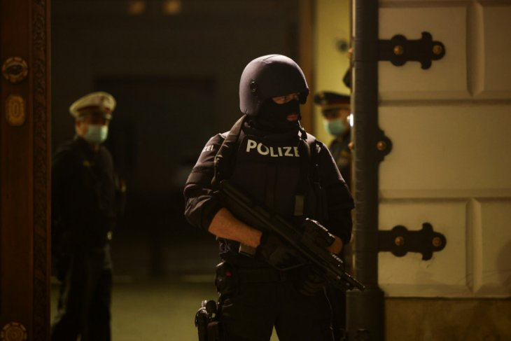 Aksi penembakan di Wina-Austria, satu orang tewas