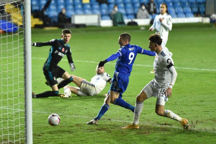 Leicester naik ke peringkat dua setelah menang 4-1 atas Leeds United