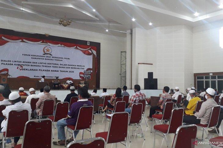 Polres Bangka Tengah ajak FKUB ciptakan pilkada damai