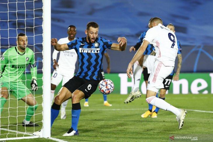 Liga Champions: Benzema dan Ramos diperkirakan absen lawan Inter Milan
