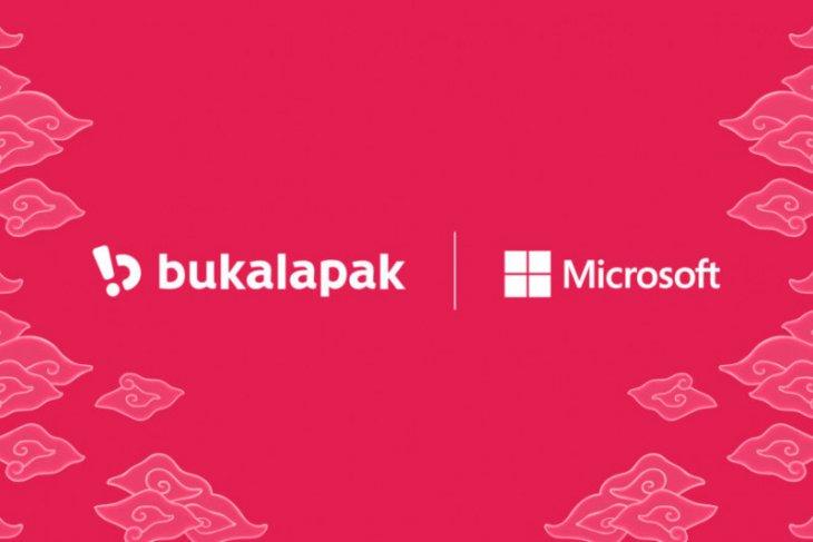 Microsoft jalin kemitraan strategis dengan Bukalapak