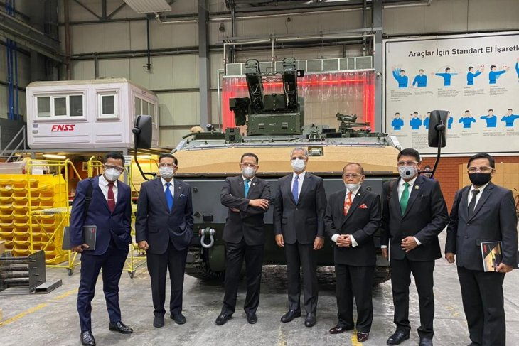 MPR dukung peningkatan kerja sama industri pertahanan  Indonesia-Turki