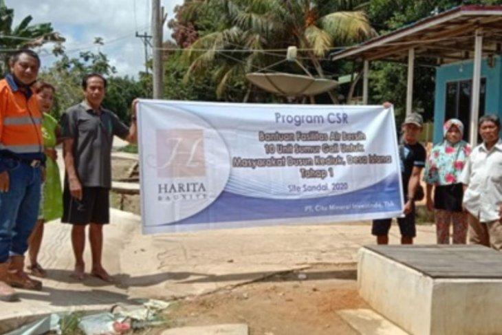 PT CMI bangun 30 fasilitas air bersih warga Dusun Kediuk