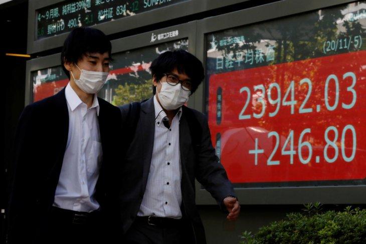 Saham Tokyo lebih tinggi karena harapan terhadap stimulus AS