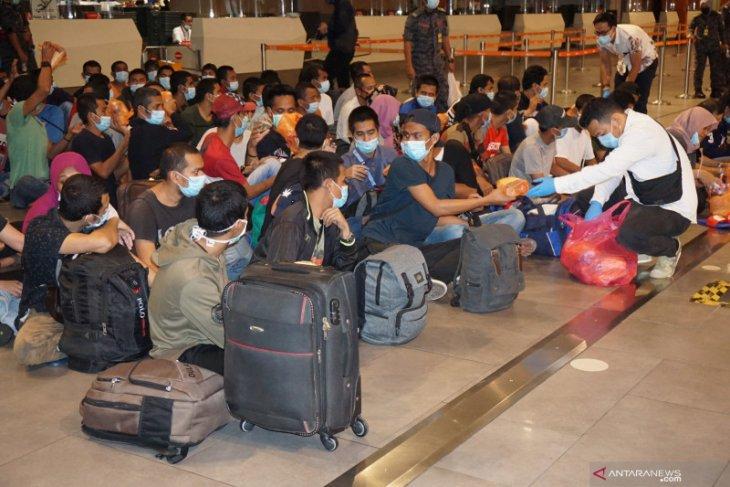 Malaysia deportasi 502 WNI dari Kuala Lumpur