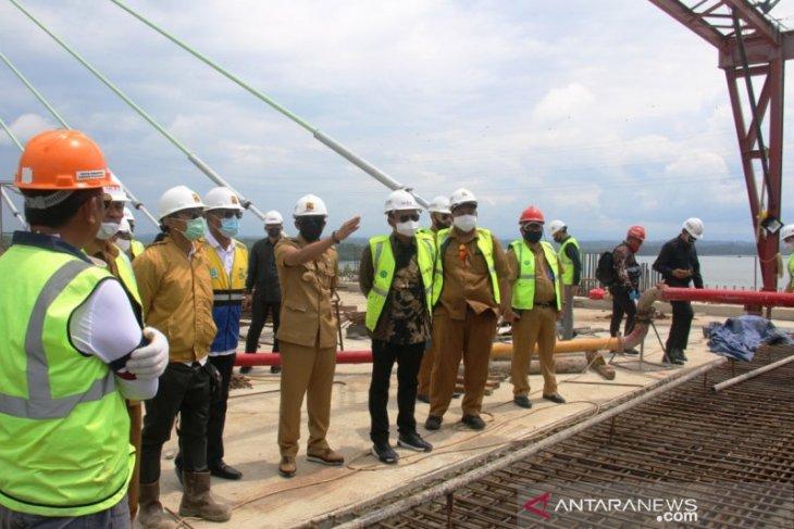 Bentang panjang Jembatan Pulau Balang rampung 100 persen