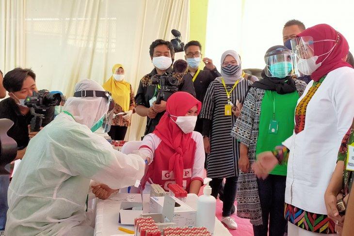 Kunjungi pabrik di Mojokerto, Menaker kampanyekan Gerakan Pekerja Sehat