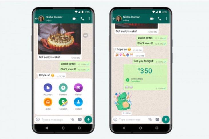 WhatsApp mulai luncurkan fitur pembayaran di India