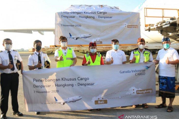 Gubernur lepas penerbangan kargo Garuda rute Denpasar-Hong Kong
