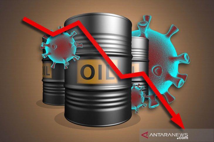 Harga minyak anjlok akibat virus baru, picu kekhawatiran permintaan