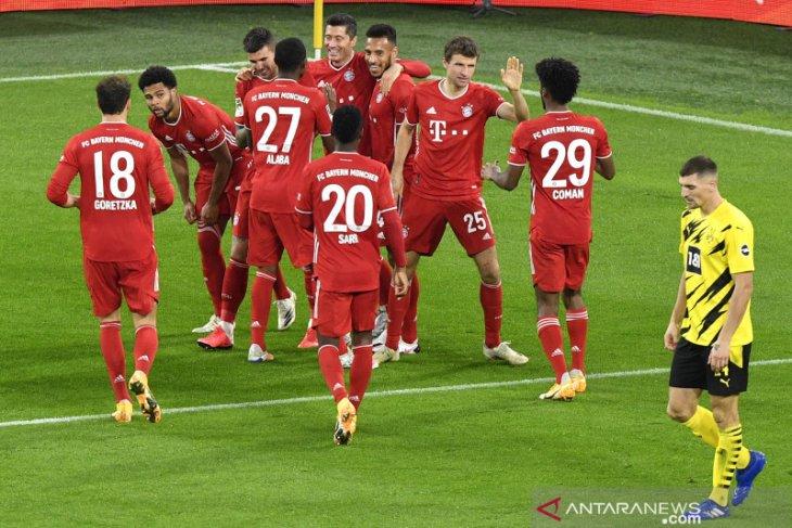 Liga Jerman: Bayern rebut kembali posisi  puncak klasemen