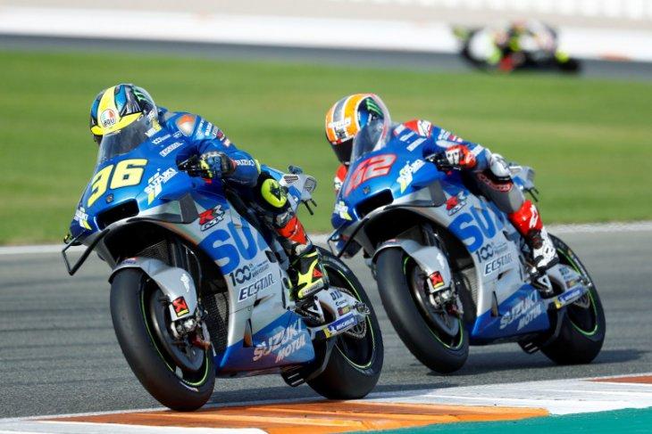 MotoGP: Joan Mir raih kemenangan perdananya, Suzuki finis 1-2 di GP Eropa