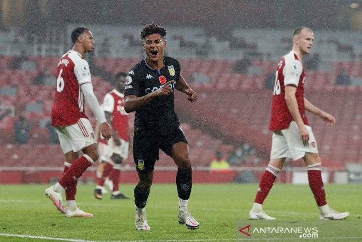 Hasil Liga Inggris, Aston Villa permalukan Arsenal di Emirates