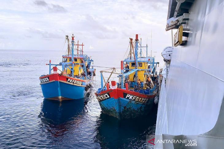 Menteri Trenggono ungkap pencurian ikan oleh kapal asing jumlahnya bisa ribuan