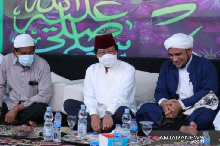 Rayakan Maulid Nabi, Wagub Babel silaturahmi ke rumah Habib Quraisy
