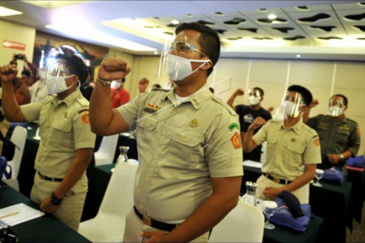 Pelatihan relawan penanganan COVID-19