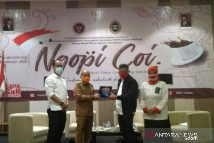Walikota Pangkalpinang apresiasi FKPT Babel sosialisasikan pencegahan terorisme