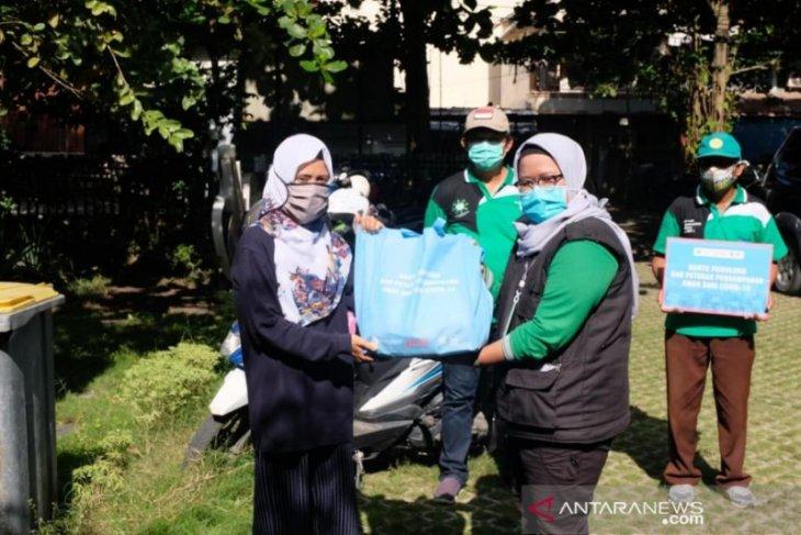 FKH dan PHD Banjarmasin saalurkan sembako ke bank sampah se-Banjarmasin