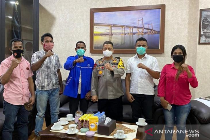 Himapel Kabupaten Kepulauan Tanimbar adukan ancaman ke Kapolda Maluku