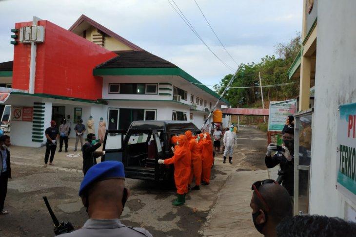 Satu pasien yang diduga terinfeksi COVID-19 di Saumlaki meninggal