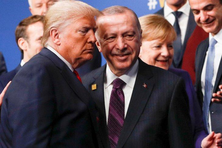 Erdogan akhirnya selamati Biden, ucapkan terima kasih kepada Trump