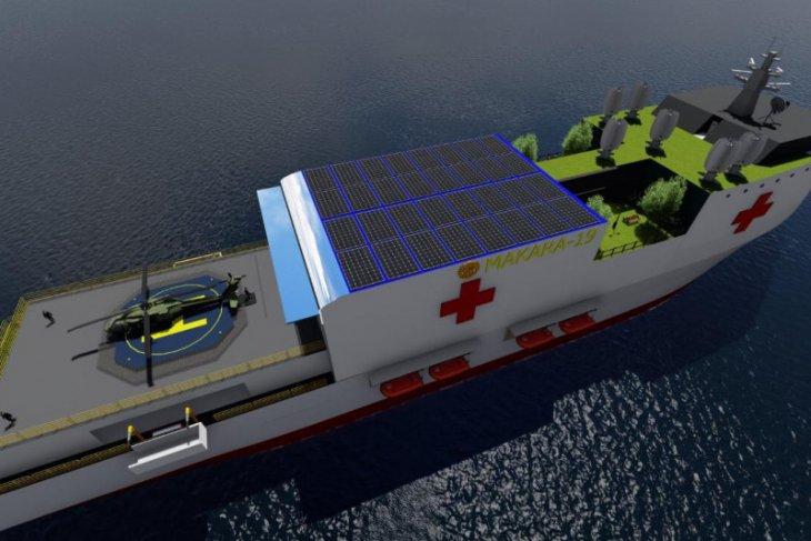 Kapal ambulans dan rumah sakit UI juara lomba desain inovasi kapal kesehatan