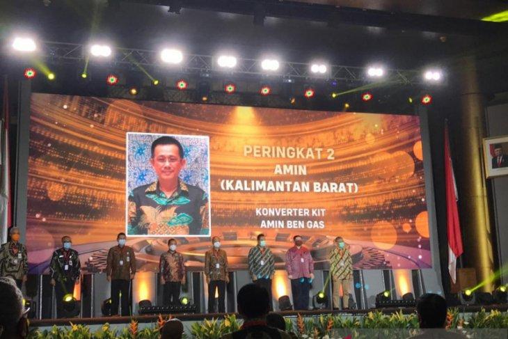 Amin Ben-gas raih peringkat ke-2 ajang Inovasi Indonesia Expo 2020