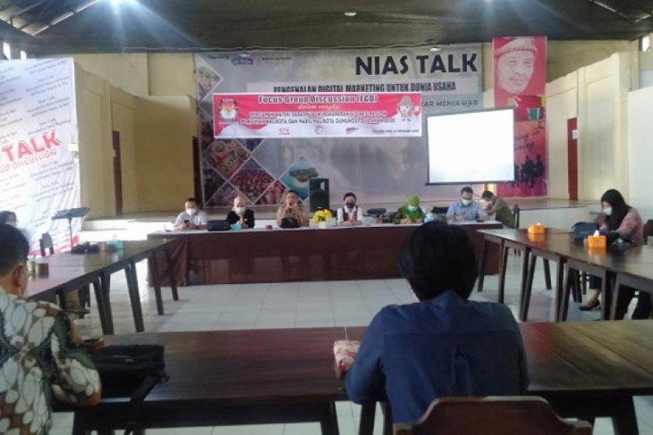KPU Gunungsitoli ajak masyarakat beri masukan materi debat publik