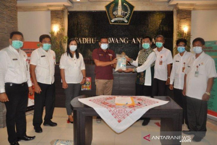 Pemkab Tabanan terima 3.000 paket beras CSR BPD Bali