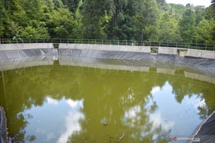 Embung air milik PUPR di Pulau Rhun tidak berfungsi maksimal
