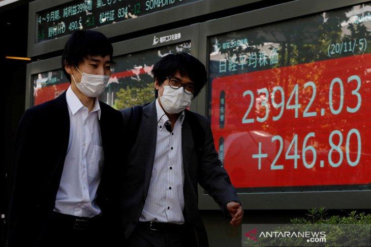 Saham Tokyo naik didorong penguatan Wall Street