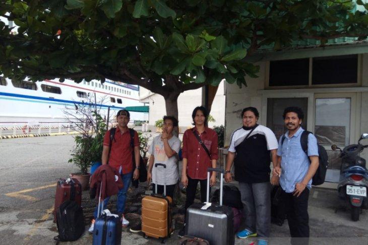 33 pelaut Indonesia dipulangkan dari Taiwan setelah telantar lama