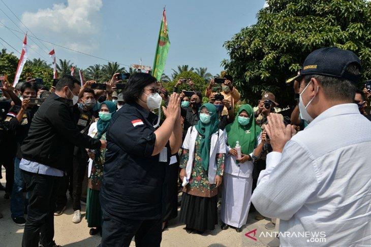 Menteri LHK Siti Nurbaya apresiasi Riau bebas asap Karhutla