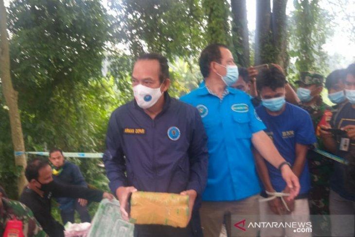 Dua tersangka suami istri kasus 141 kg ganja di rawat di rumah sakit