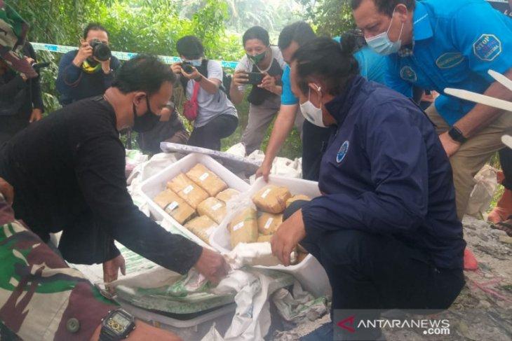 141 kg ganja yang diamankan rencananya akan diedarkan di Medan