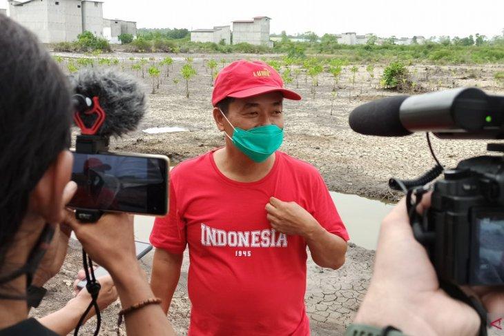 Kelola Demplot, Desa Muara Adang Ingin Contohkan Tambak Ramah Lingkungan