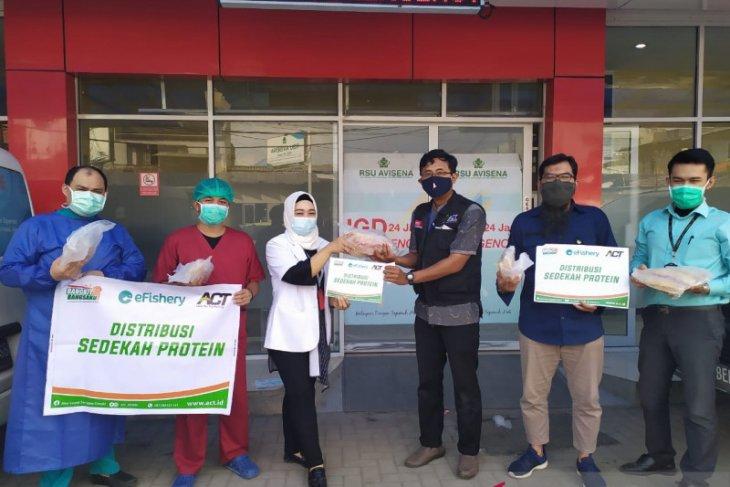 BerIkan untuk Indonesia, membantu nutrisi tenaga kesehatan saat COVID-19