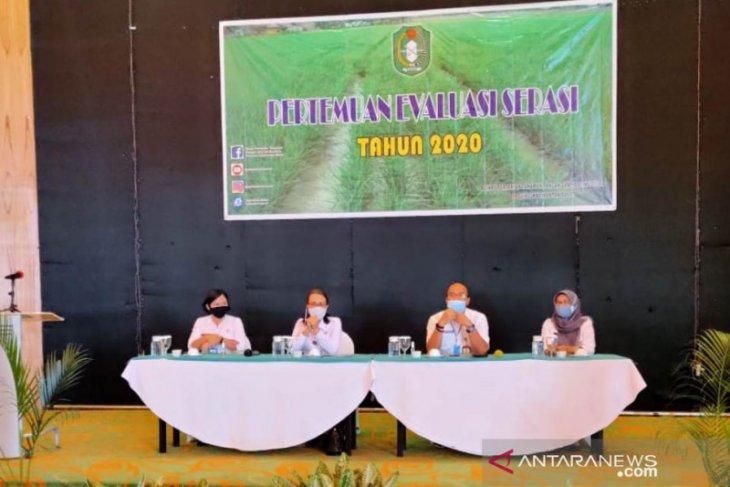 Target produksi padi Kalbar Tahun 2021 ditetapkan 885 ribu ton GKG