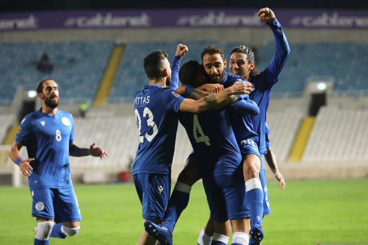 UEFA Nations League: Siprus ukir kemenangan perdana usai taklukkan Luxenburg