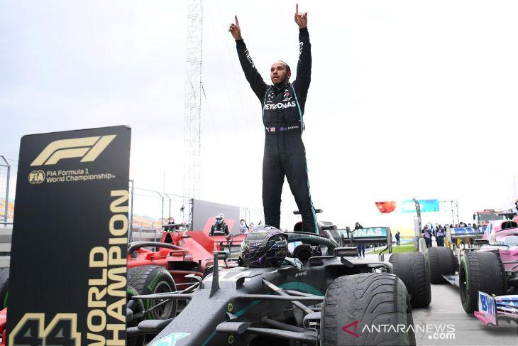 Formula 1: Hamilton punya waktu hingga tes pramusim untuk teken kontrak Mercedes