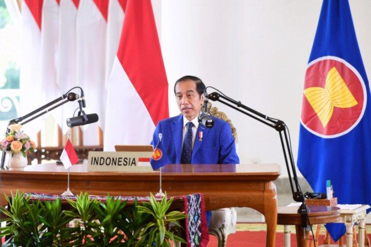 Presiden Jokowi sampaikan sejumlah pesan dalam KTT ASEAN-PBB