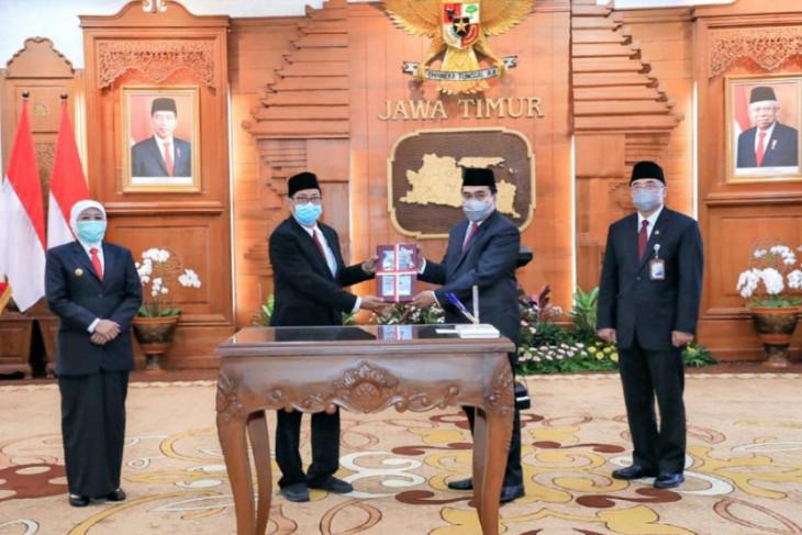 Gubernur Jatim ingatkan pentingnya inovasi digitalisasi sistem kepegawaian
