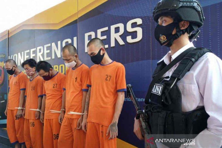 Lima pria berkasus pencabulan dan kejahatan  terhadap perempuan diringkus