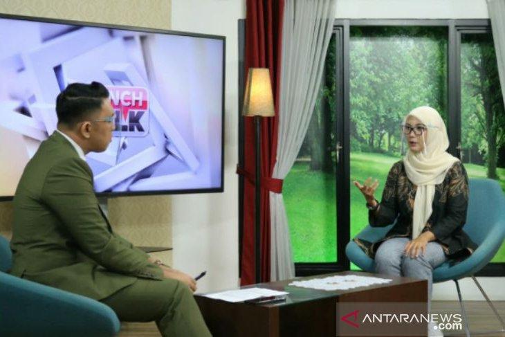Melati Erzaldi berbagi kisah memajukan UMKM Babel di TV nasional