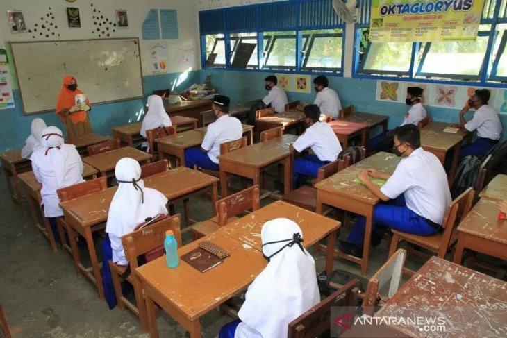 Disdik: Belum semua sekolah di Aceh belajar tatap muka